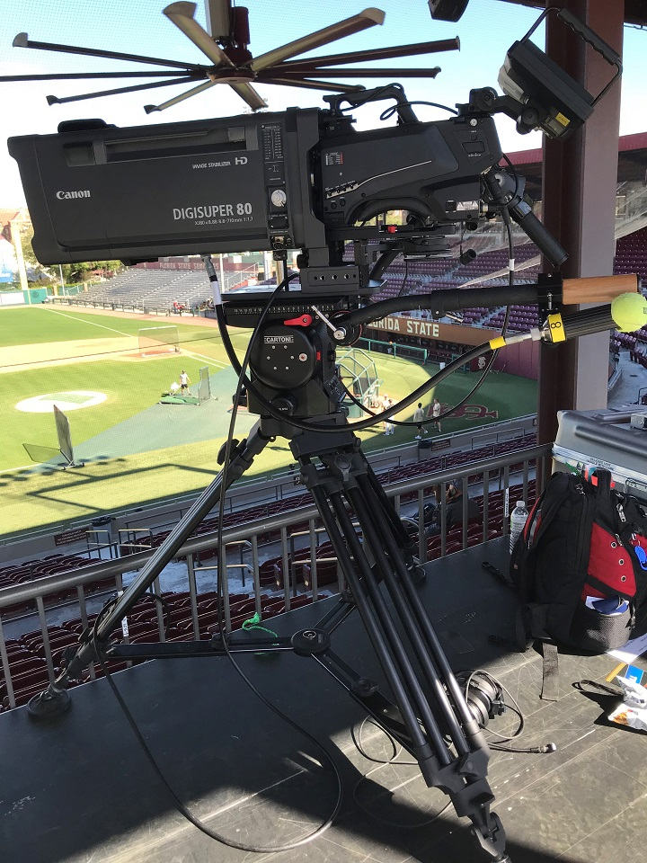 FSU's Seminole Productions Upgrades Camera Support with Cartoni Magnum