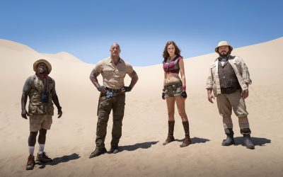 """Sony Pictures Post Production Services Sound Team Ups Its Game for""""Jumanji: The Next Level"""""""