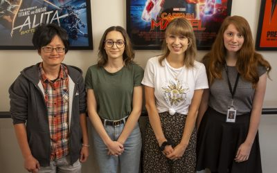 Rising Sun Pictures' Female Artists Making Strides in an Industry Once Dominated by Men