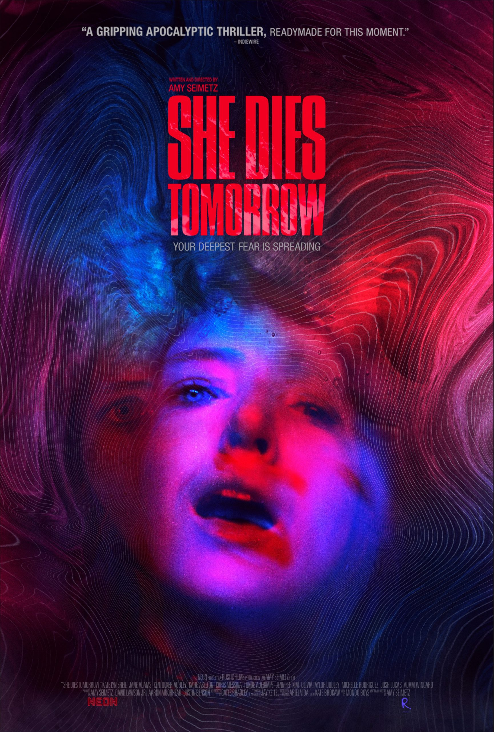 "Goldcrest Post Finishes Sound and Picture for Indie Thriller ""She Dies Tomorrow"""