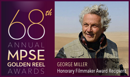 Motion Picture Sound Editors Announce 68th Annual Golden Reel Award Nominees